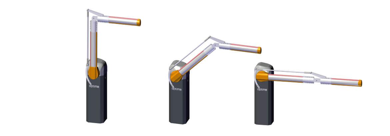 Challenger-ART Electromechanical Articulated Arm Barrier