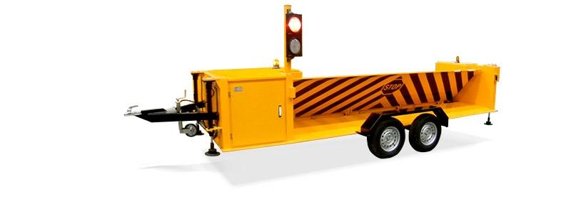 Mobile Hydraulic Road Blocker